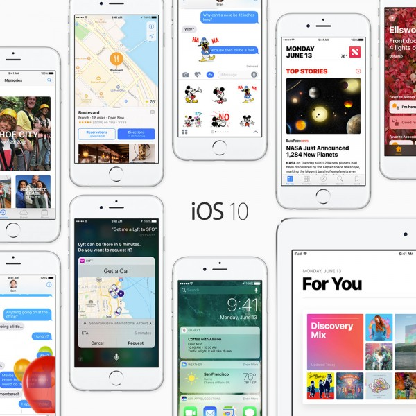 iOS 10 - overview