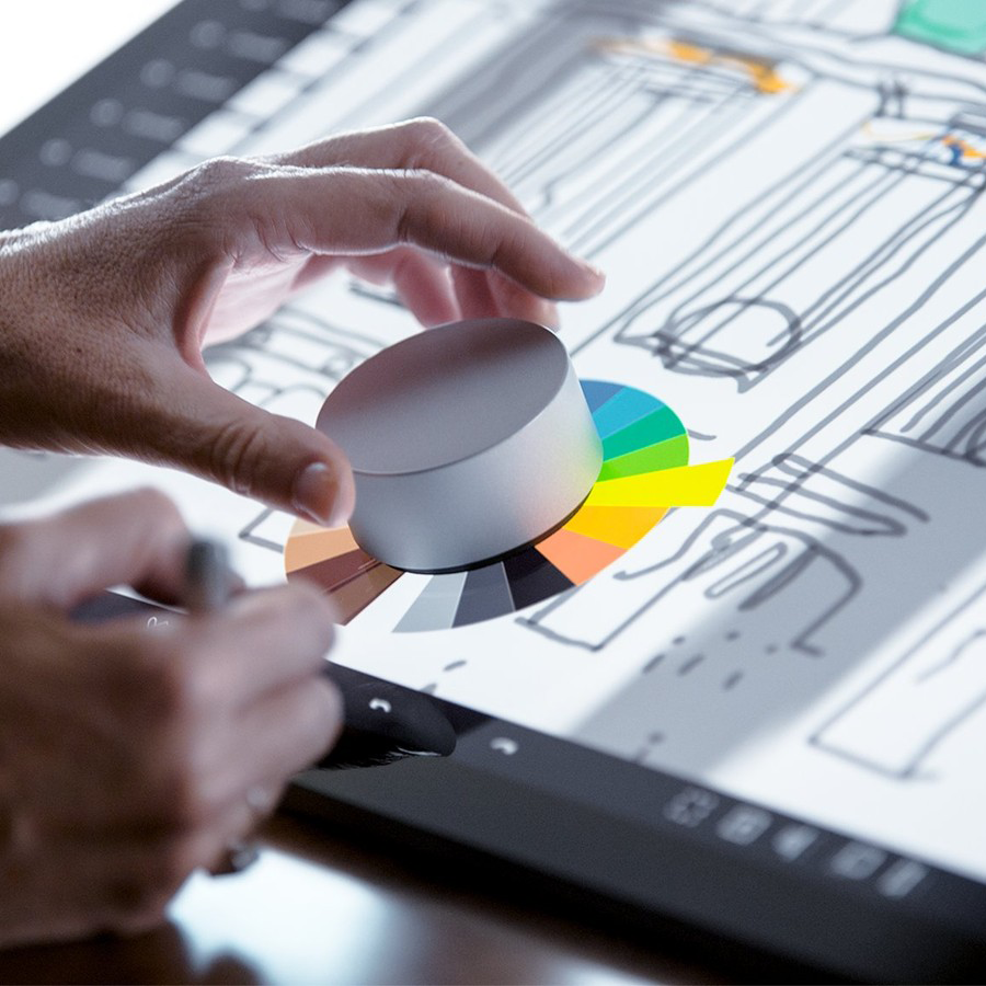 Microsoft Surface Studio - Surface Dial